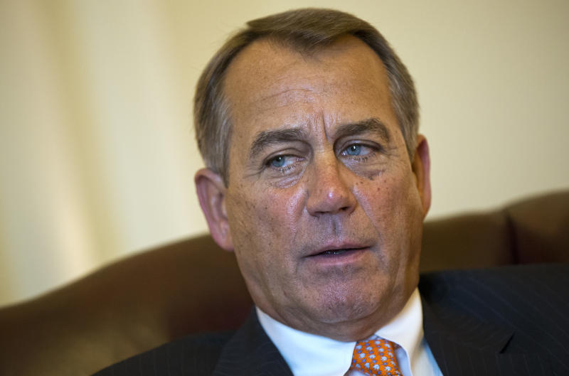 Boehner taking a you-first approach to proposals