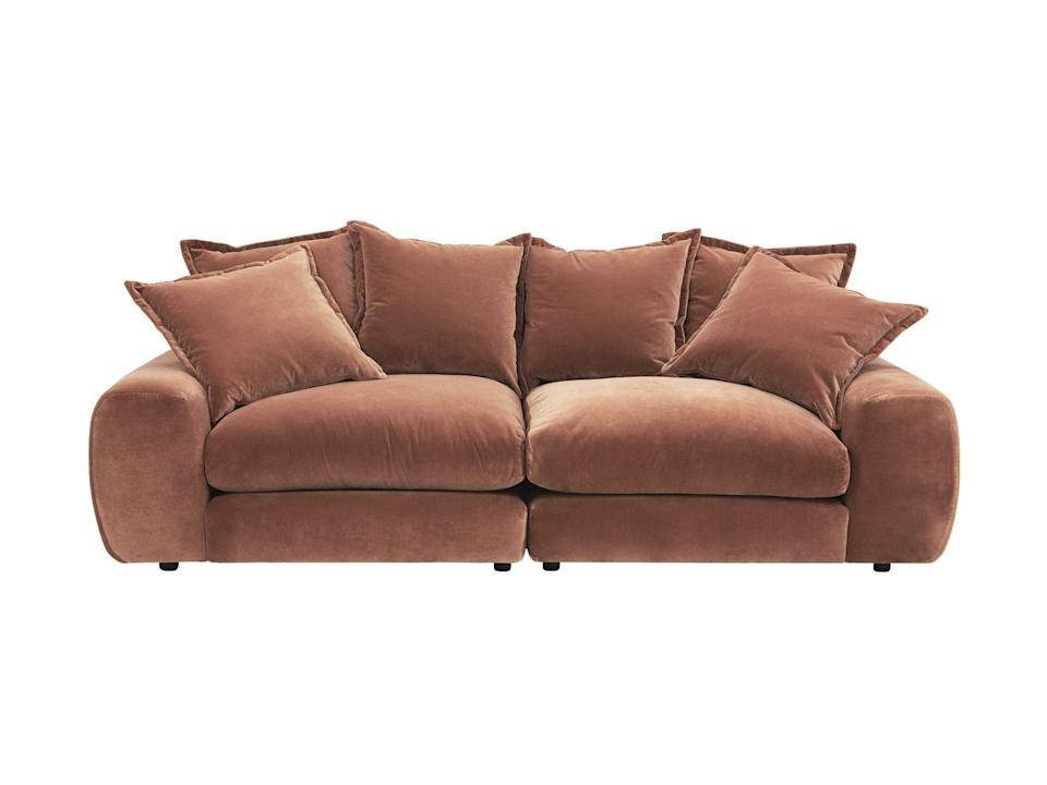 "<p>The ultimate example of generosity of form, this modular sofa from Loaf serves up comfort in big, hearty portions. As Loaf says: 'If this sofa were a cake, it would be one where only whopping great slices would be allowed.' From £1,830, <a href=""https://loaf.com/products/wodge-sofa"" rel=""nofollow noopener"" target=""_blank"" data-ylk=""slk:loaf.com"" class=""link rapid-noclick-resp"">loaf.com</a></p>"