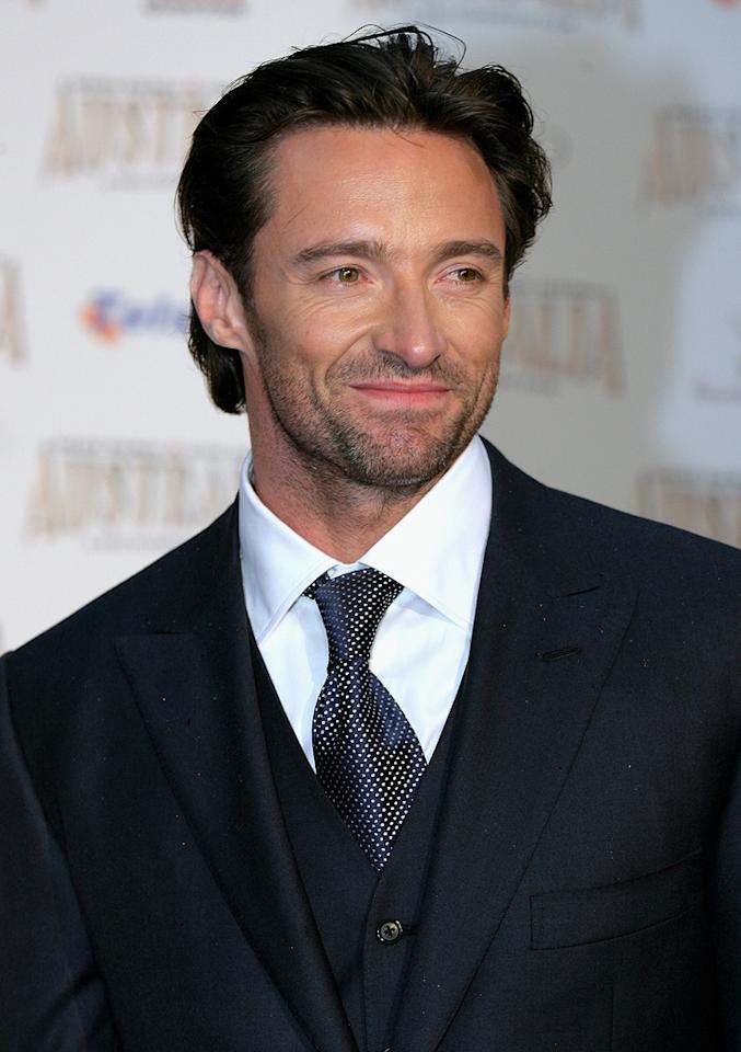 "<a href=""http://movies.yahoo.com/movie/contributor/1800354816"">Hugh Jackman</a> at the Sydney premiere of <a href=""http://movies.yahoo.com/movie/1809878217/info"">Australia</a> - 11/18/2008"