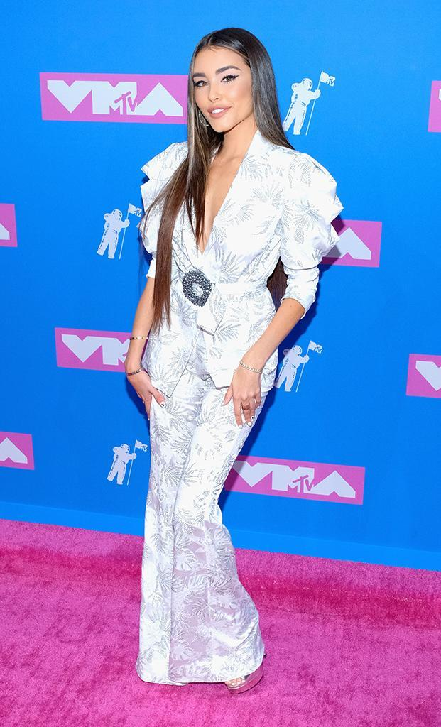 <p>Madison Beer attends the 2018 MTV Video Music Awards at Radio City Music Hall on August 20, 2018 in New York City. (Photo: Matthew Eisman/FilmMagic) </p>