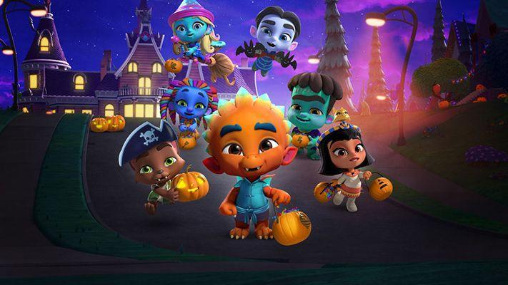 "<p>The second season of the <em><a href=""https://www.netflix.com/title/80124711"" rel=""nofollow noopener"" target=""_blank"" data-ylk=""slk:Super Monsters"" class=""link rapid-noclick-resp"">Super Monsters</a></em> series kicks off on October 5, but it's best to start with this Halloween special, which actively shows preschoolers how the holiday's scares are mostly make-believe. The characters explain the tricks behind haunted houses and spooky decorations so they don't seem quite so horrifying anymore. A follow up, ""<a href=""https://www.netflix.com/title/81021243"" rel=""nofollow noopener"" target=""_blank"" data-ylk=""slk:Vida's First Halloween"" class=""link rapid-noclick-resp"">Vida's First Halloween</a>"" debuted earlier this year.<br></p><p><a class=""link rapid-noclick-resp"" href=""https://www.netflix.com/title/80999063"" rel=""nofollow noopener"" target=""_blank"" data-ylk=""slk:WATCH NOW"">WATCH NOW</a></p>"