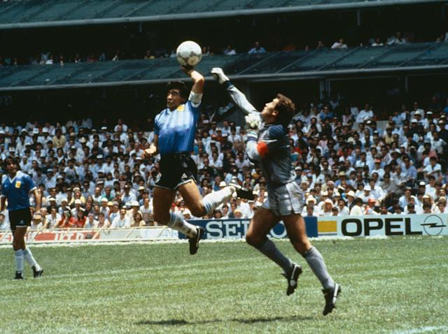 World Cup 2018: Peter Shilton mocks old adversary Diego Maradona after Argentina's loss to Croatia