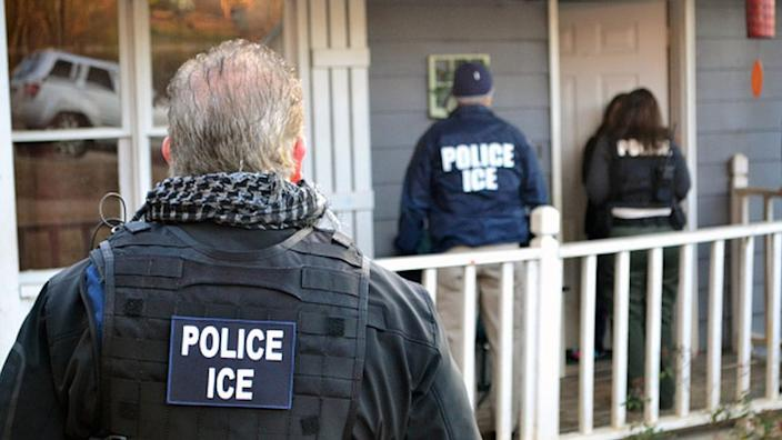 The complaint has been filed with the watchdog that oversees the Department of Homeland Security (DHS), which is responsible for ICE. File image