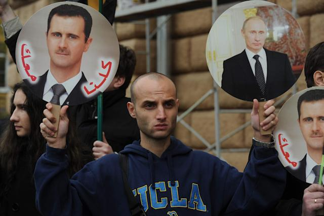 Assad and Putin