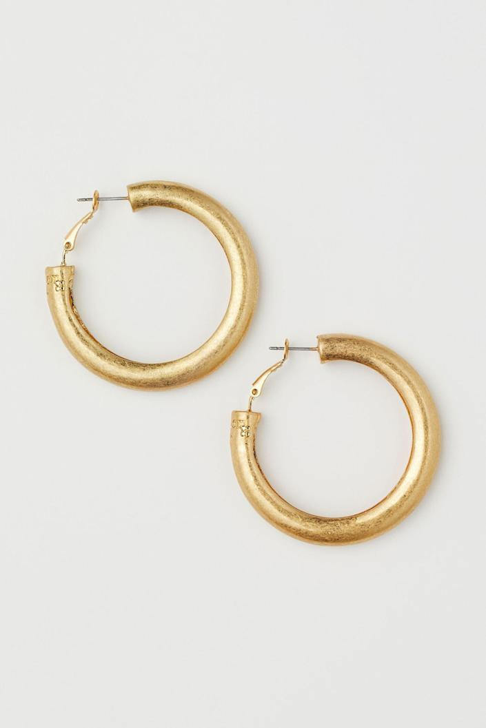 <p>These <span>Chunky Earrings</span> ($13) are minimal and chic, and they double as cute gifts.</p>