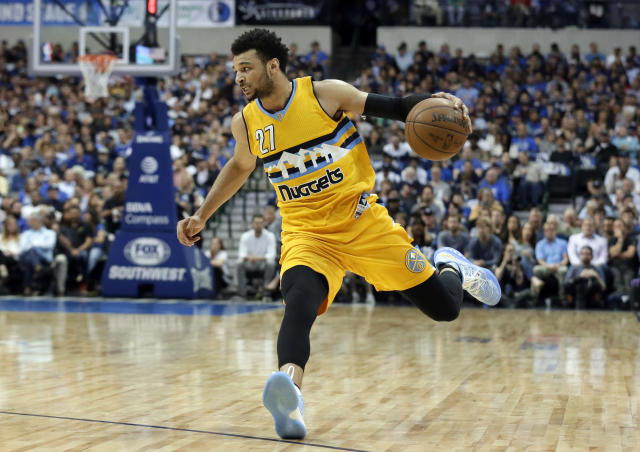 Is Jamal Murray primed for a breakout season as Denver's starting point guard? (AP)