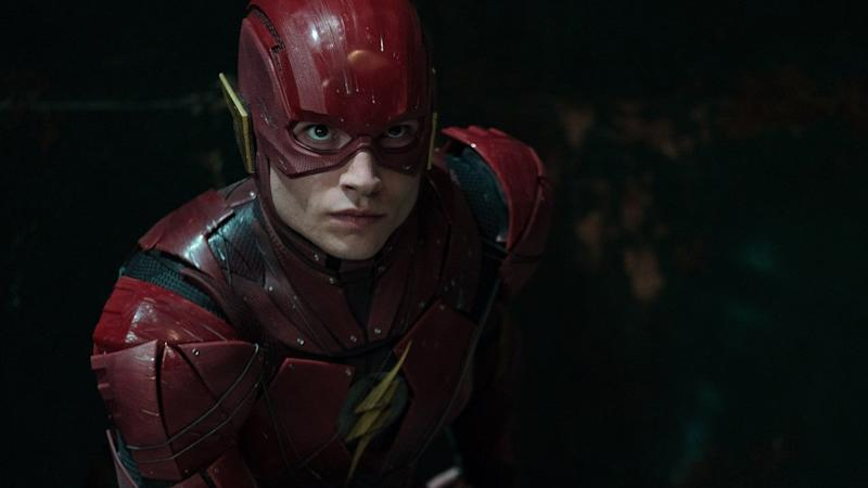 Ezra Miller's Flash Makes a Surprise Appearance in 'Crisis on Infinite Earths' Shocker