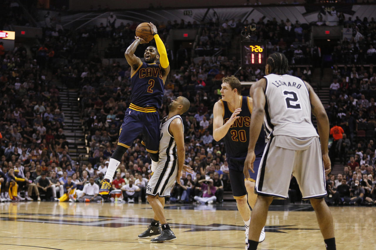 Kyrie Irving's 57 points lead Cavaliers to incredible OT win over Spurs