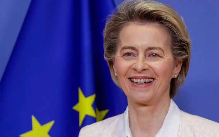 European Commission President Ursula Von Der Leyen  - REUTERS