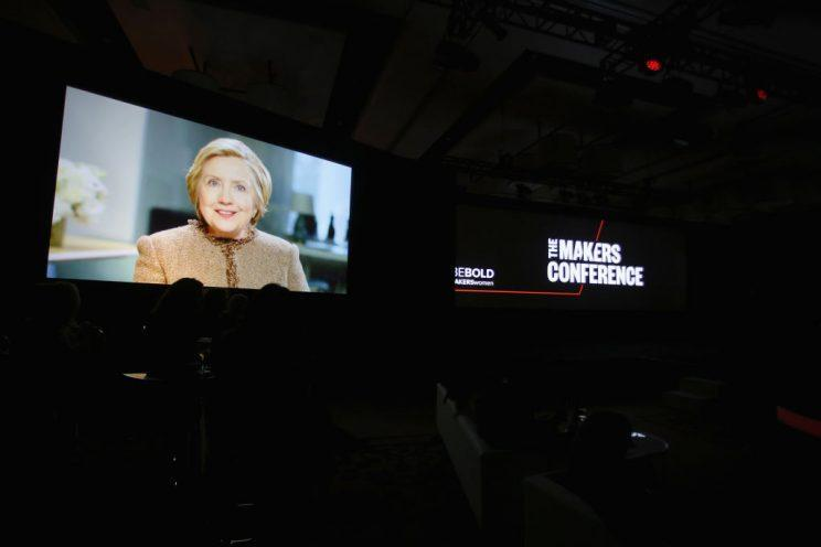 Hillary Clinton has delivered her first statement since the inauguration [Photo: Getty]