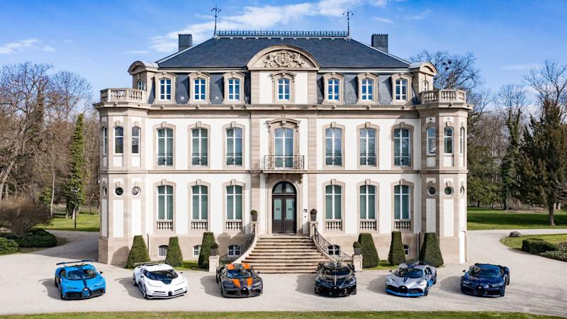 Bugatti Shows Six Cars Worth A Combined $35.6 Million