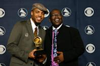"""<p>At the 2005 Grammy Awards, Van was nominated for best urban/alternative performance for his track """"Dust."""" The following year, he was up for best R&amp;B performance by a duo or group with vocals and <a href=""""http://www.grammy.com/grammys/artists/van-hunt/3084"""" class=""""link rapid-noclick-resp"""" rel=""""nofollow noopener"""" target=""""_blank"""" data-ylk=""""slk:took home the Grammy"""">took home the Grammy</a> for """"Family Affair."""" (Fun fact: <a class=""""link rapid-noclick-resp"""" href=""""https://www.popsugar.co.uk/John-Legend"""" rel=""""nofollow noopener"""" target=""""_blank"""" data-ylk=""""slk:John Legend"""">John Legend</a> collaborated with Van on this song!) What many people may also not know is that Randy Jackson has been an executive record producer for Van since 2002.</p>"""