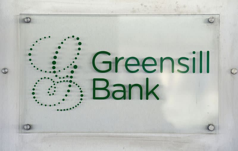 FILE PHOTO: Greensill Bank is pictured in downtown Bremen