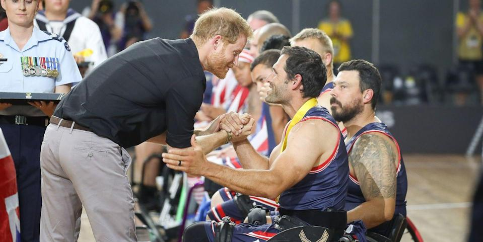Photo credit: Chris Jackson/Invictus Games Foundation