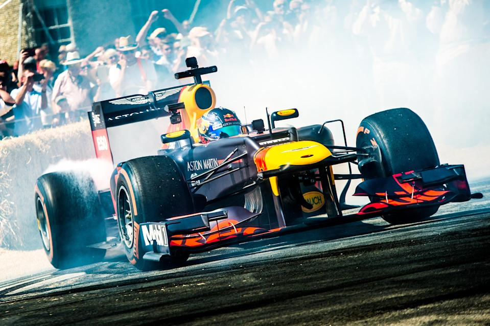 F1 at Festival of Speed