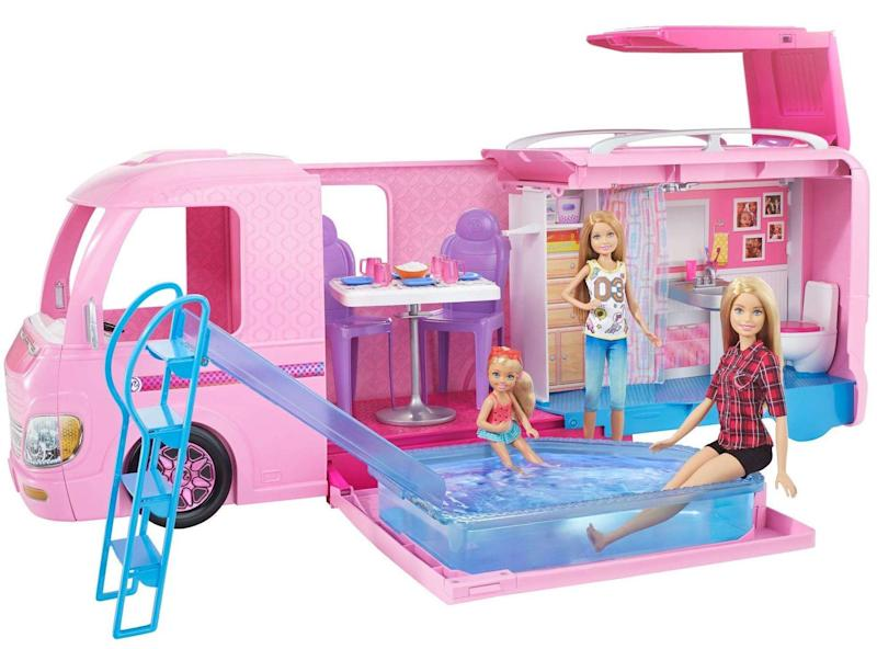 Barbie's going camping and imaginations are running wild. (Photo: Walmart)