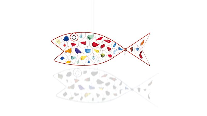 Alexander Calder's Fish, ca. 1952, sold for $17.5 million.