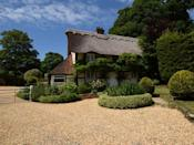 """<p>A stay at this thatched cottage is like stepping into the pages of a fairy tale novel. Despite its small size, it can sleep up to 10 guests and has five bedrooms, five bathrooms, distinctive character features and pretty gardens. There's also an outdoor pool and hot tub — perfect for the whole family to enjoy together. </p><p><strong>Guests: </strong>Up to 10<br><strong>Pricing: </strong>Seven nights from £2,895</p><p><a class=""""link rapid-noclick-resp"""" href=""""https://go.redirectingat.com?id=127X1599956&url=https%3A%2F%2Fwww.holidaycottages.co.uk%2Fcottage%2F56765-gilpin-house&sref=https%3A%2F%2Fwww.countryliving.com%2Fuk%2Ftravel-ideas%2Fstaycation-uk%2Fg35804522%2Fgroup-accommodation-holiday-homes-uk%2F"""" rel=""""nofollow noopener"""" target=""""_blank"""" data-ylk=""""slk:BOOK NOW"""">BOOK NOW</a></p>"""
