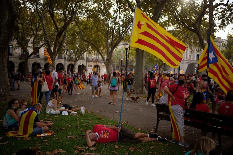 APTOPIX Spain Catalonia (Copyright 2021 The Associated Press. All rights reserved)
