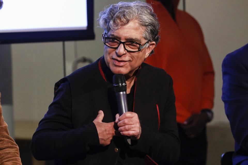 NEW YORK, NY - JANUARY 21: Deepak Chopra at the 9th Annual Peace Week Town Hall at Betaworks Studios on January 21, 2019 in New York City. Credit: Diego Corredor/MediaPunch /IPX