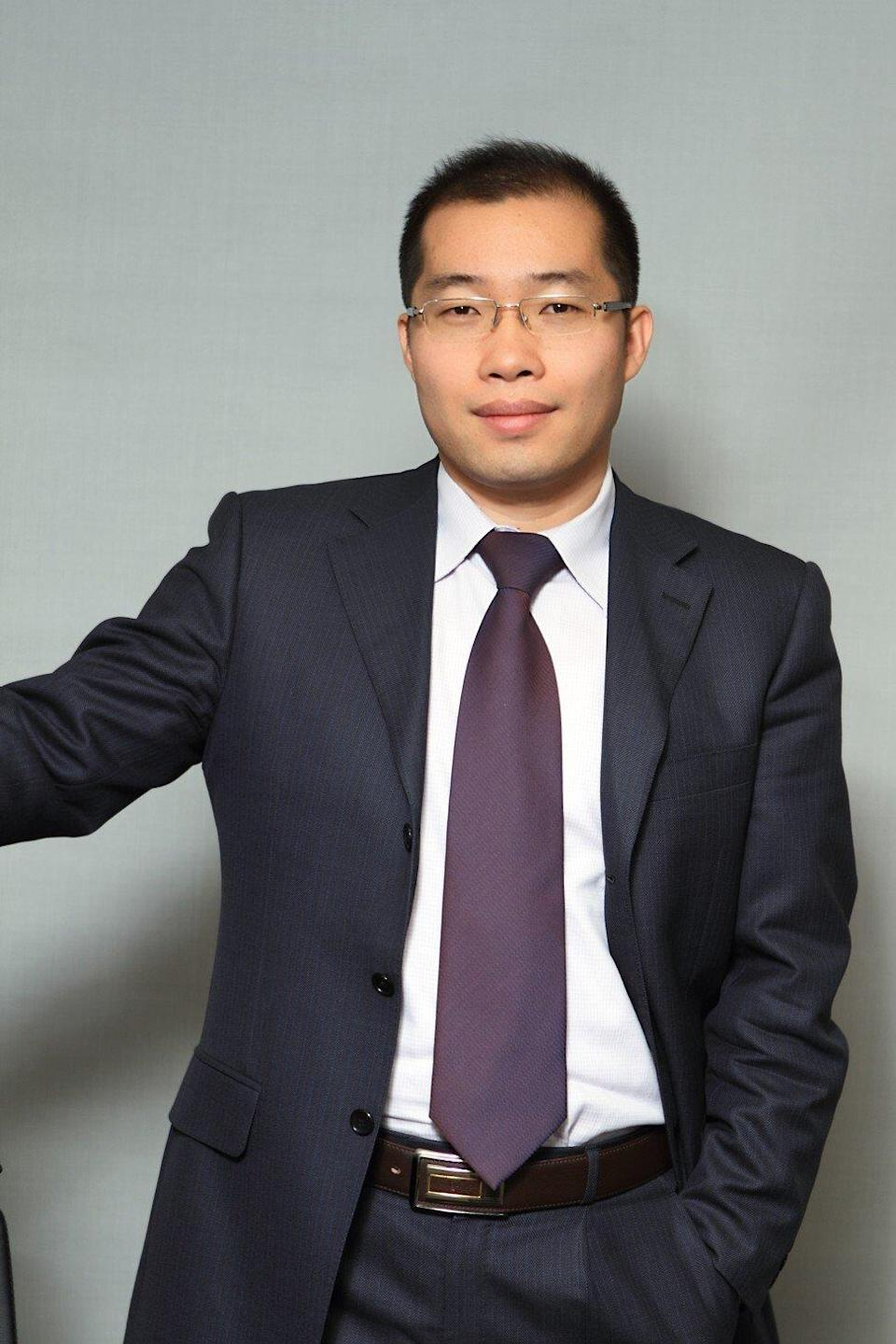 Han Guangzhe, a fund manager in Beijing at Golden Eagle Asset Management. Photo: Handout