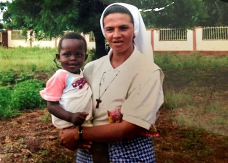 The archbishop of Bamako, Jean Zerbo, confirmed Narvaez's release, adding that she was 'doing well' (AFP/HO)