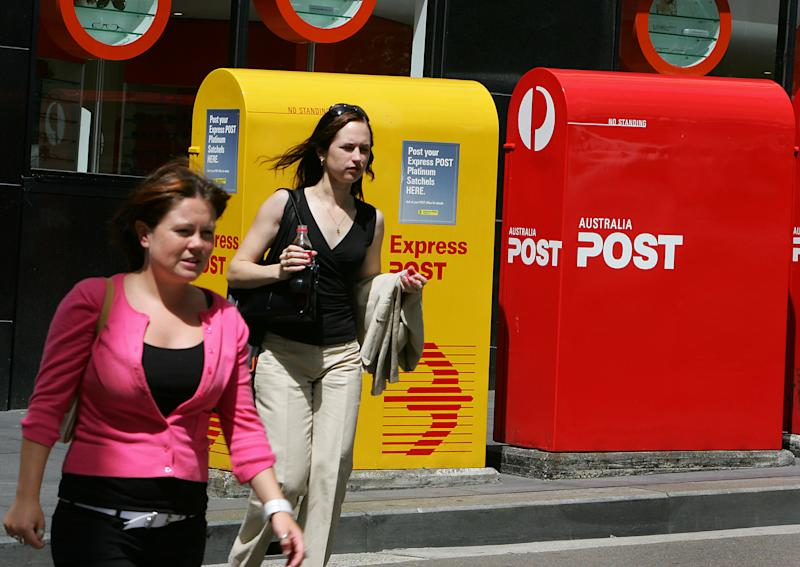 Australia's postal service is the nation's oldest, continuously operating organisation, celebrating 200 years in 2009 (AFP Photo/Greg Wood)