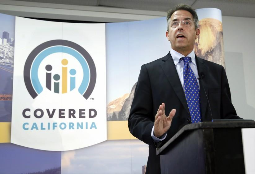 """Peter Lee, executive director of Covered California, the state's health insurance exchange. <span class=""""copyright"""">(Rich Pedroncelli/Associated Press)</span>"""