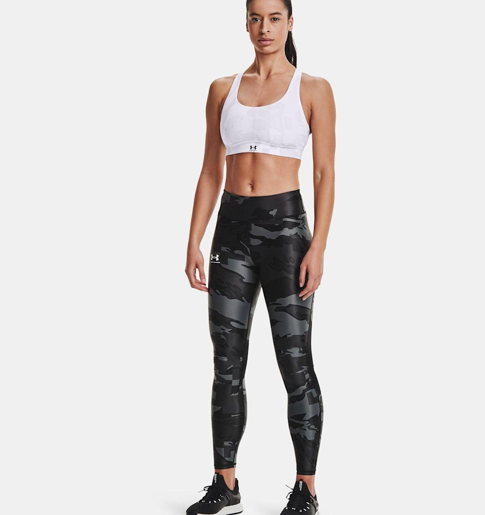 <p>When it's a little too cold to wear shorts but still way too hot for warmer fabrics, these <span>UA Iso-Chill Team Full-Length Leggings</span> ($60) are the perfect in-between. Under Armour's Iso-Chill technology pulls both sweat and heat away from the skin, so you remain calm, cool, and collected from your first mile through your last.</p>