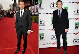 Gyllenhaal in 2010 and now