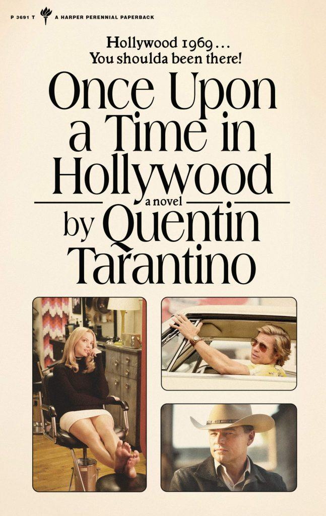 capa de Once Upon a Time in Hollywood: A Novel