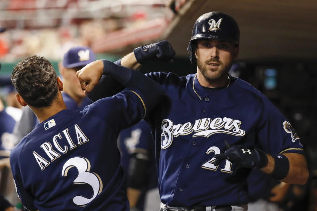 Why not pull for the Brewers, nobody expected them to make it this far. (AP)