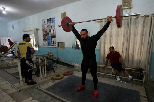 Salwan Jassim Abbood returned from the Asian weightlifting championships in Turkmenistan last year with a silver medal