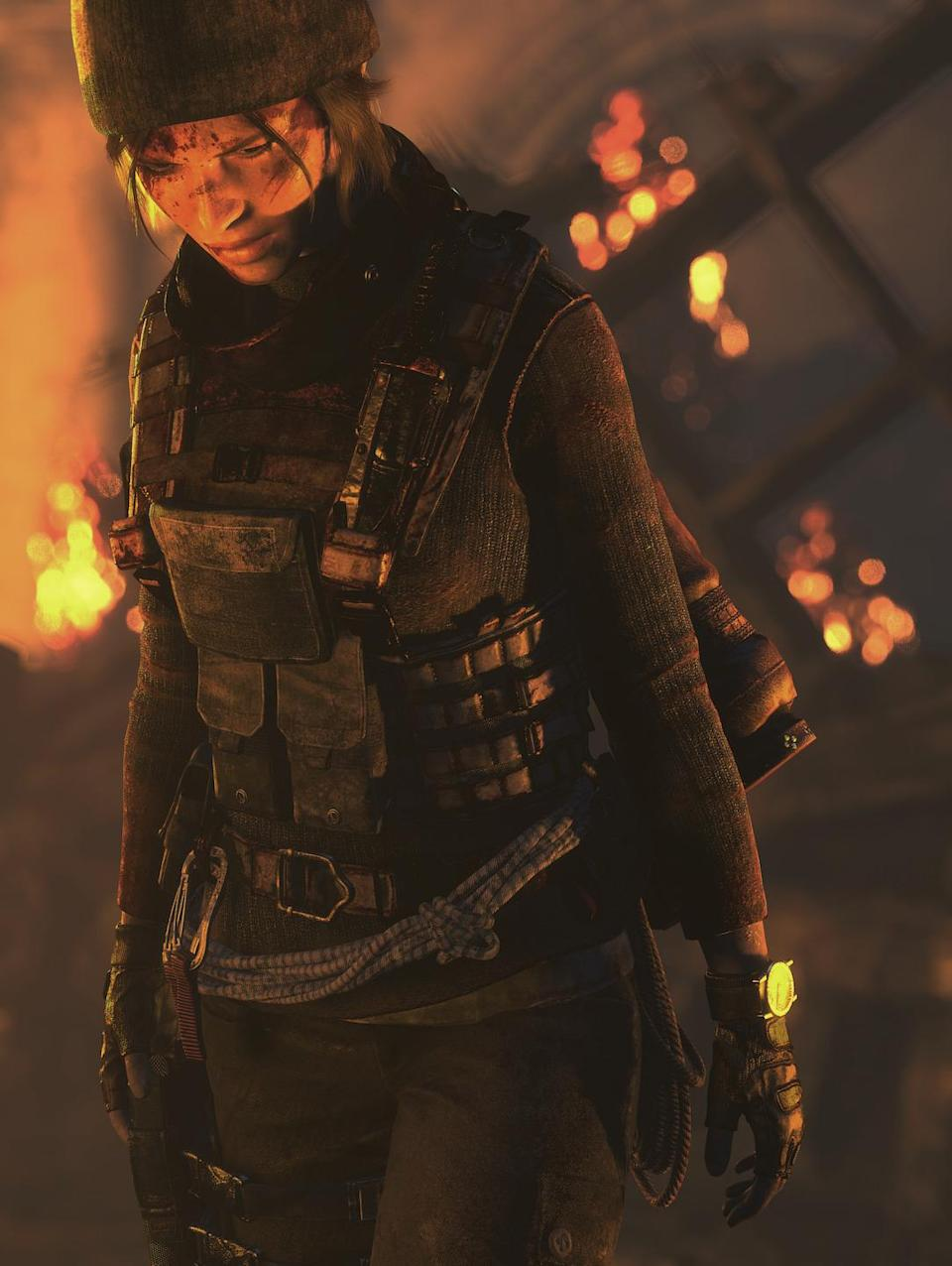 """<p>This release augments 'Rise of the Tomb Raider' with a new DLC called """"Blood Ties"""" with PlayStation VR support, as well as all the previously released DLCs, additional weapons, and """"Lara's Nightmare"""" mode. (Photo: Square Enix) </p>"""