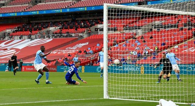 Manchester City and Chelsea met at Wembley in the FA Cup last month