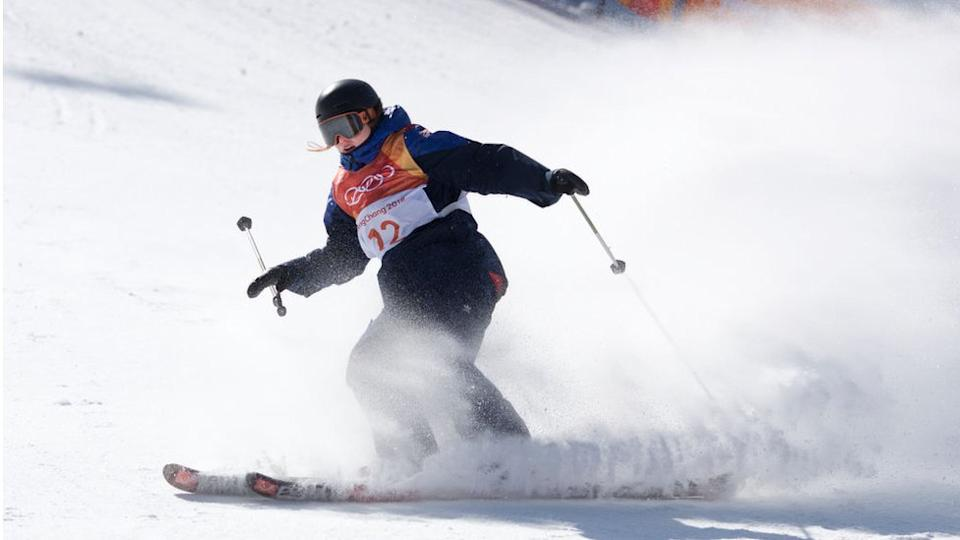 Skier Izzy Atkin won one of Team GB's two bronze medals at Pyeongchang in 2018