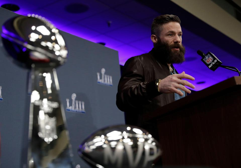 New England Patriots wide receiver Julian Edelman is close to an agreement on a contract extension.