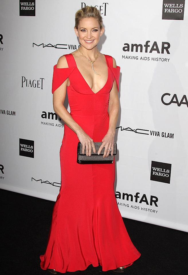 3rd Annual amfAR Inspiration Gala in Los Angeles, a celebration of men's style, to benefit the Foundations AIDS research programs. This year they honor Kevin Huvane. Pictured: Kate Hudson Ref: SPL445870 111012 Picture by: Jen Lowery / Splash News Splash News and Pictures Los Angeles: 310-821-2666 New York: 212-619-2666 London: 870-934-2666 photodesk@splashnews.com