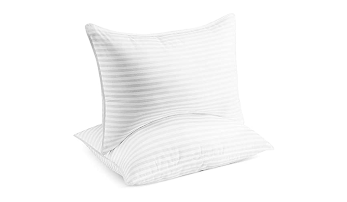 Make over your bed, beginning with a luxe place to rest your head: 50 percent off with our special coupon. (Photo: Amazon)