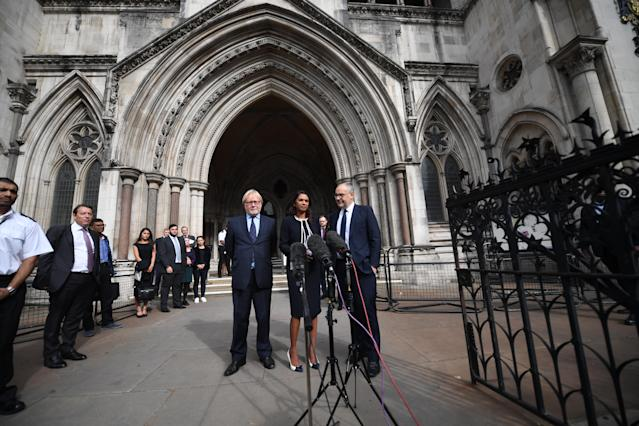 Gina Miller managed to overturn the government's prorogation of parliament (Getty)