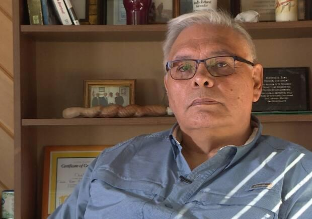 Mi'sel Joe, chief of the Miawpukek First Nation, says the community is working on a salmon-saving plan that could include introducing new species into Conne River.
