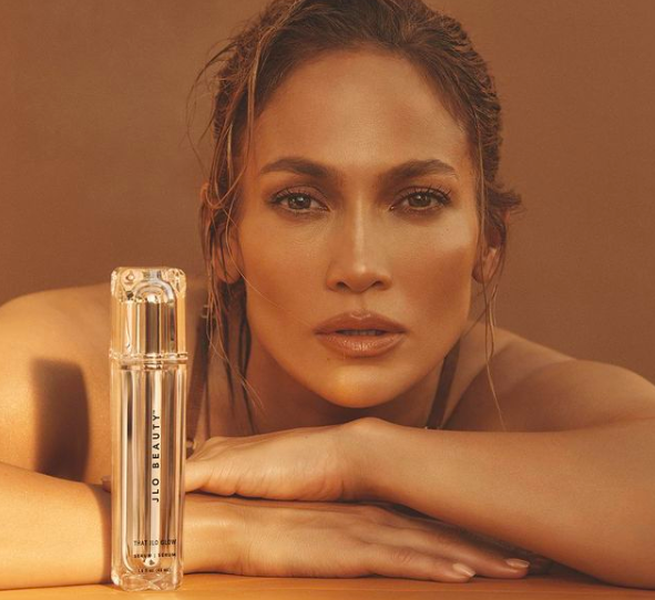 That JLo Glow Serum with Olive Complex Image via Instagram/jlobeauty