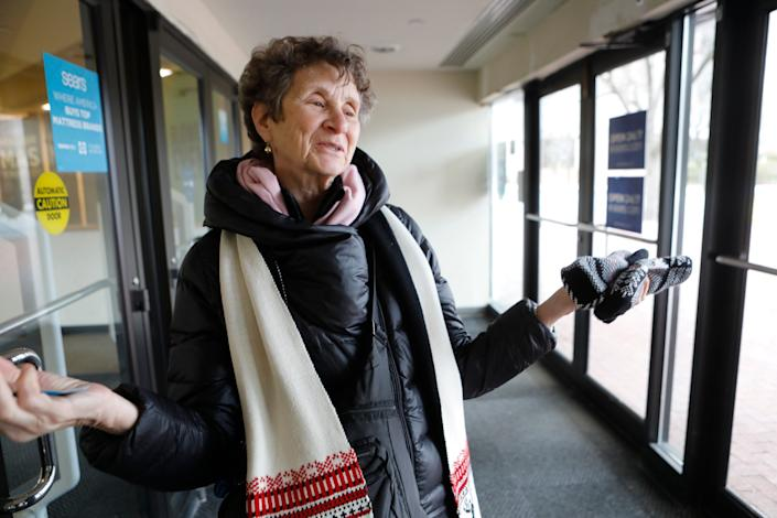 Amy Cohen, 72, of White Plains, N.Y., said she enjoys shopping at the local Sears.