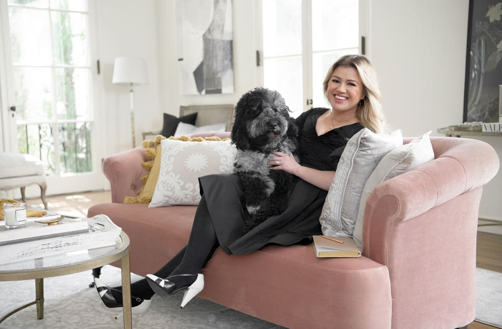 Kelly Clarkson's new Wayfair home collection is already on sale