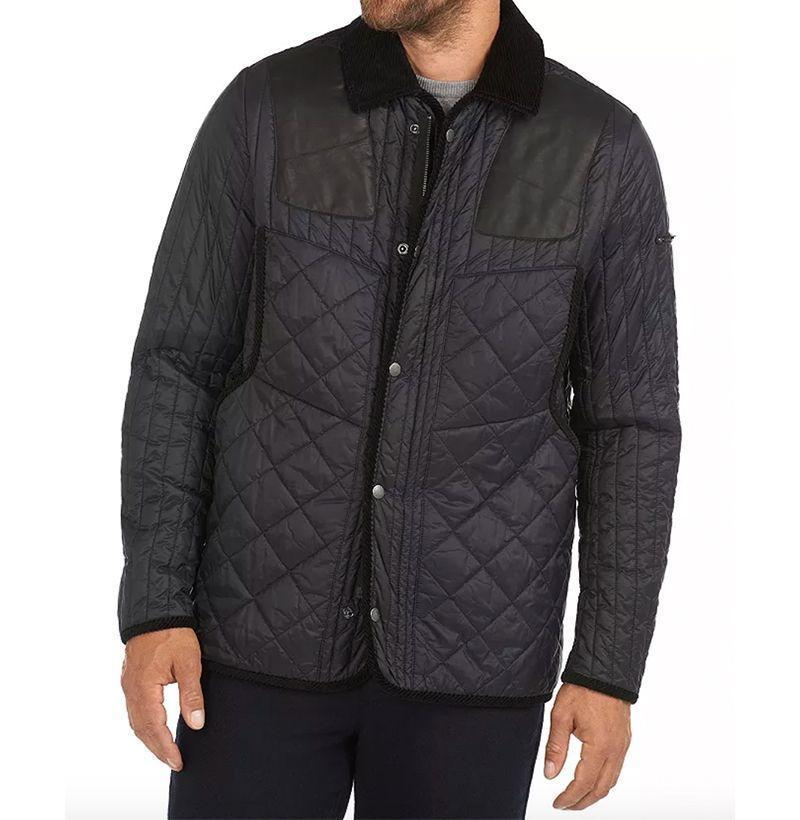 """<p><strong>Barbour</strong></p><p>bloomingdales.com</p><p><strong>$550.00</strong></p><p><a href=""""https://go.redirectingat.com?id=74968X1596630&url=https%3A%2F%2Fwww.bloomingdales.com%2Fshop%2Fproduct%2Fbarbour-gold-standard-heritage-quilted-jacket%3FID%3D3778977&sref=https%3A%2F%2Fwww.esquire.com%2Fstyle%2Fmens-fashion%2Fg34151679%2Fbest-new-menswear-september-25%2F"""" rel=""""nofollow noopener"""" target=""""_blank"""" data-ylk=""""slk:Shop Now"""" class=""""link rapid-noclick-resp"""">Shop Now</a></p>"""