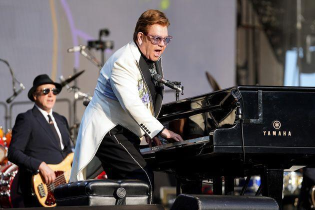 Sir Elton performing in New Zealand in February 2020 (Photo: Kerry Marshall via Getty Images)