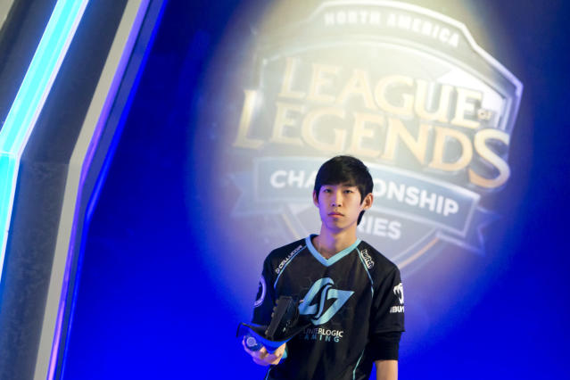 Link will be stepping onto the LCS stage for the first time since Spring 2015 (Lolesports/Riot Games)