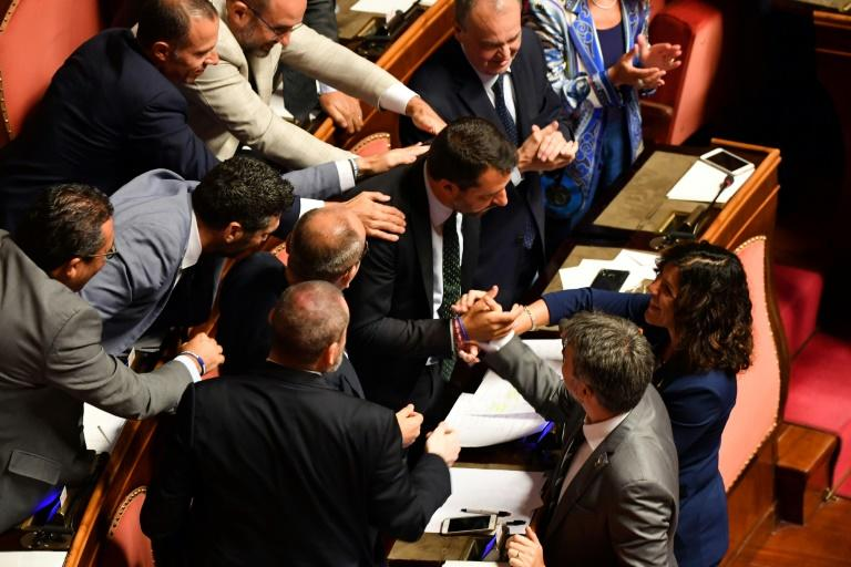 Dealers have shrugged off some of their worries about Italy (AFP Photo/Andreas SOLARO)