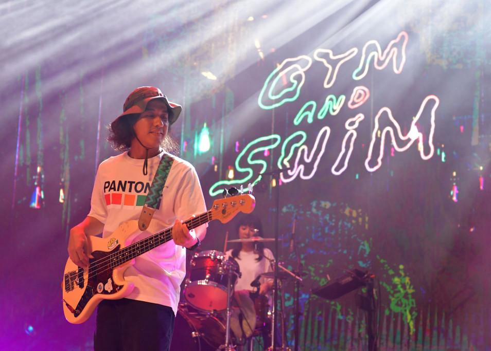 Bangkok-based tropical pop band Gym and Swim. (PHOTO: Singapore GP)