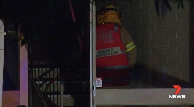 Residents say the fire is one of many anti-social incidents in recent months. Source: 7 News